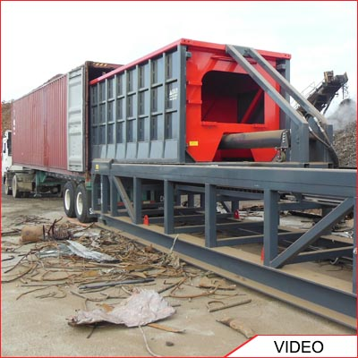 Acculoader Container Loader - Container Loading System
